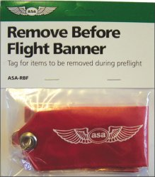 Remove Before Fligh Banner