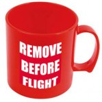 Remove before flight muki