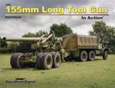 155mm Long Tom Gun in Action