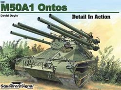 M50A1 Ontos Detail in Action