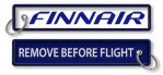 Finnair-Remove Before Flight avainperä